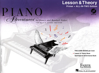 Randall Faber et al.: Piano Adventures Primer Level – Lesson & Theory