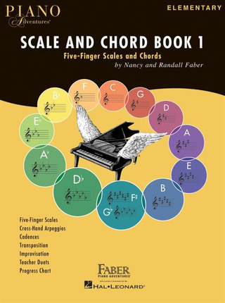 Randall Faber et al.: Piano Adventures – Scale And Chord Book 1