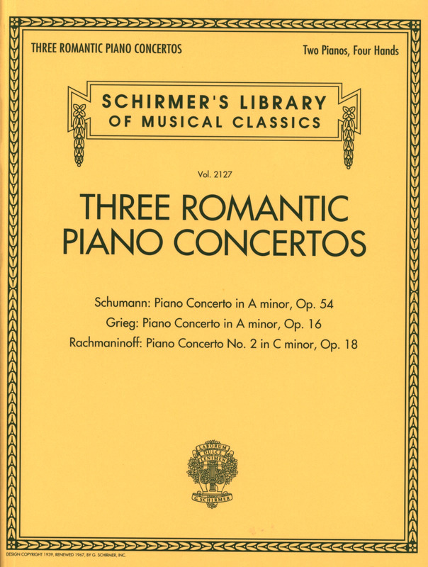 Robert Schumann et al.: Three Romantic Piano Concertos