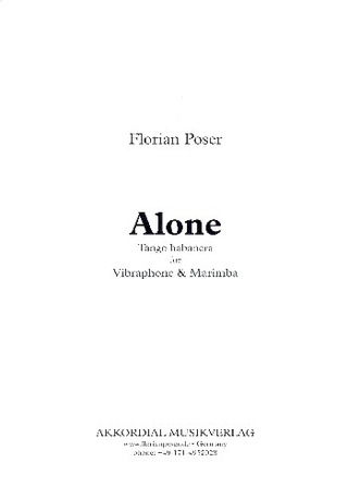 Florian Poser: Alone