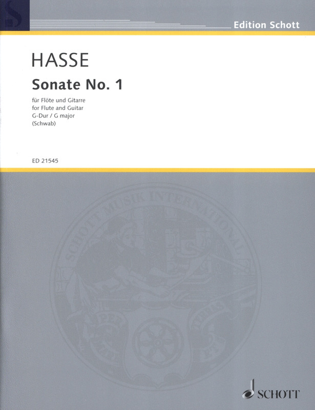 Johann Adolph Hasse: Sonate No. 1  G-Dur