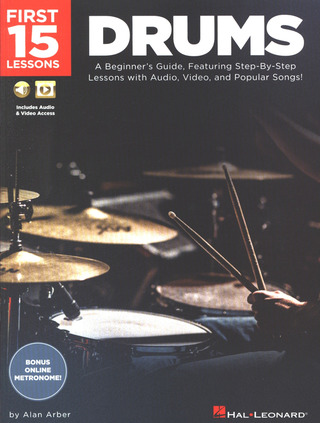 Alan Arber: Drums – First 15 Lessons