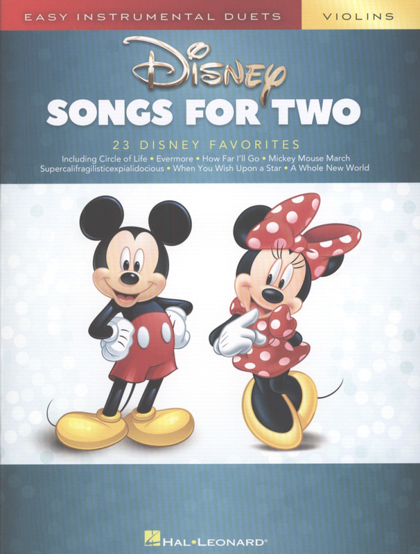 Disney Songs for Two Violins (0)