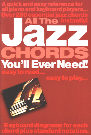 All The Jazz Chords You'll Ever Need Pf/Kbd