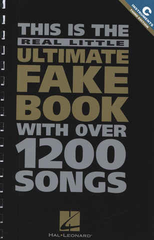 Real Little Ultimate Fake Book 2 Edition