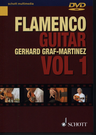 Gerhard Graf-Martinez: Flamenco Guitar vol. 1 DVD