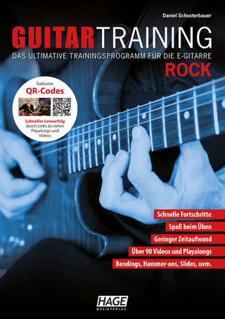Daniel Schusterbauer: Guitar Training – Rock
