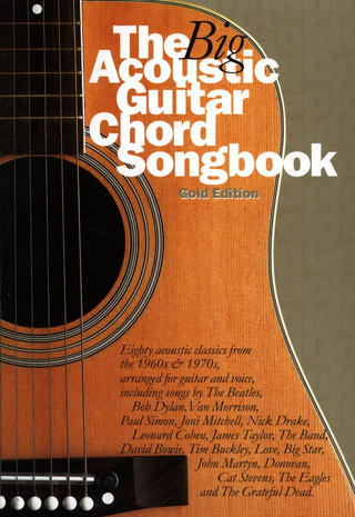 Big Acoustic Guitar Chord Songbook Gold Edition LC
