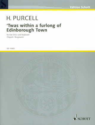 Henry Purcell: Twas within a furlong of Edinborough Town e-Moll