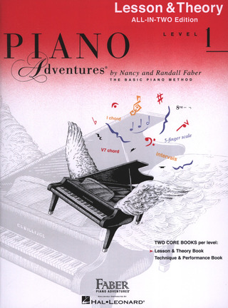 Randall Faber et al.: Piano Adventures 1– Lesson & Theory
