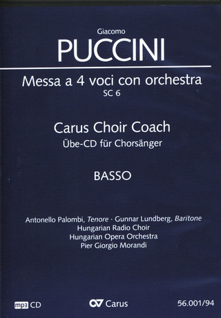 Giacomo Puccini: Messa di Gloria – Carus Choir Coach