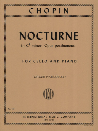 Frédéric Chopin: Nocturne in C-sharp minor