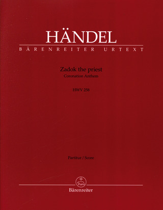 Georg Friedrich Händel: Zadok the priest