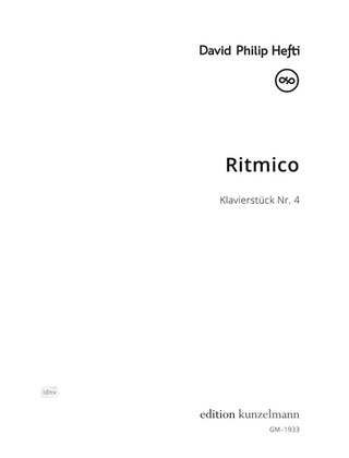 David Philip Hefti: Ritmico
