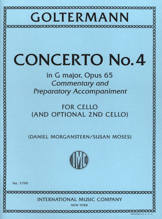Georg Goltermann: Concerto No. 4