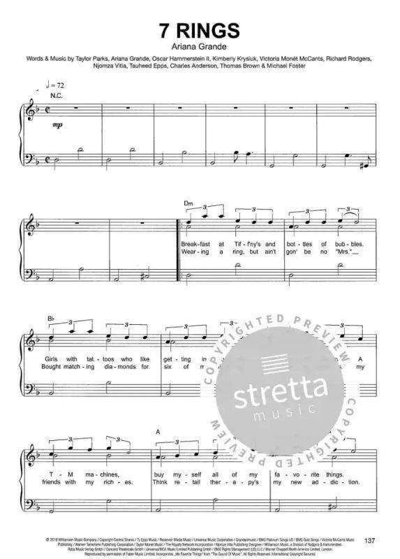 Piano gefällt mir Band 9-50 Chart und Film Hits Noten für Klavier 7944