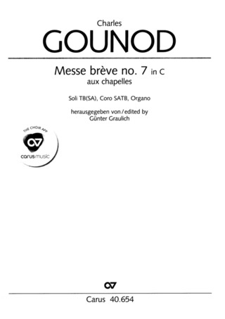 Charles Gounod: Messe brève no. 7 in C