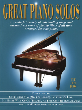 Great Piano Solos – The Film Book