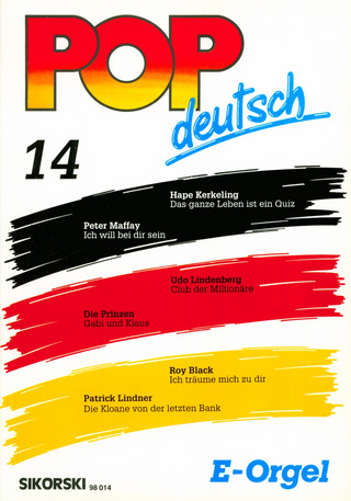 Pop deutsch E-Orgel 14