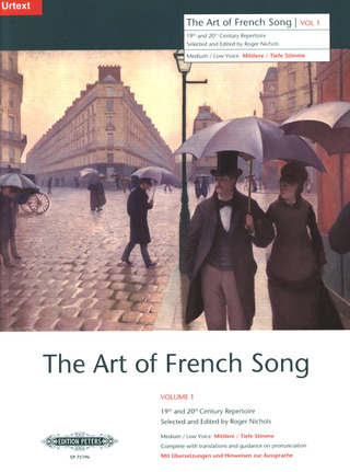 The Art of French Song 1