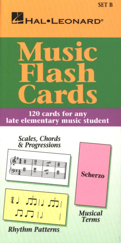 Music Flash Cards – Set B