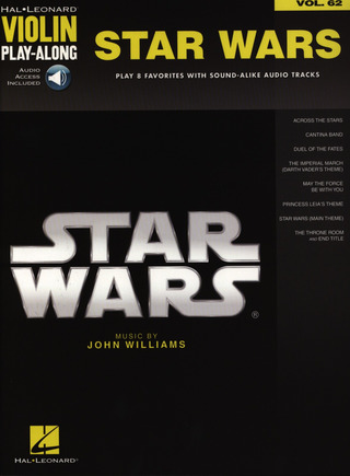 John Williams: Violin Play-Along 62: Star Wars