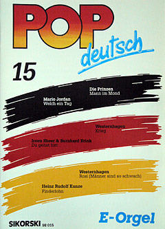 Pop deutsch E-Orgel 15