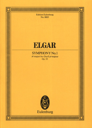 Edward Elgar: Symphonie Nr. 1  Nr. 1 As-Dur op. 55 (1908)