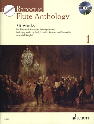 Knight, Annabel: Baroque Flute Anthology Vol. 1