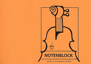 Notenblock STAR 1213