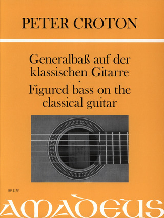 Peter Croton: Figured bass on the classical guitar