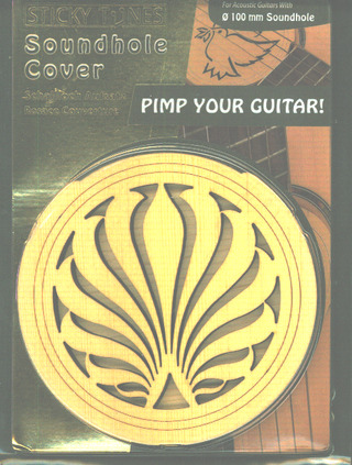 Soundhole Cover Sticky Tunes Fire