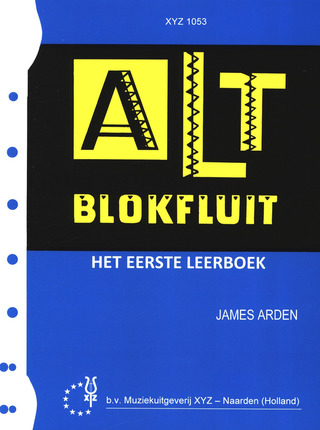 James Arden: Alt Blokfluit 1