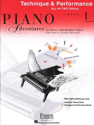 Randall Faber et al.: Piano Adventures 1 – Technique & Performance