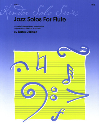 Denis DiBlasio: Jazz Solos for Flute