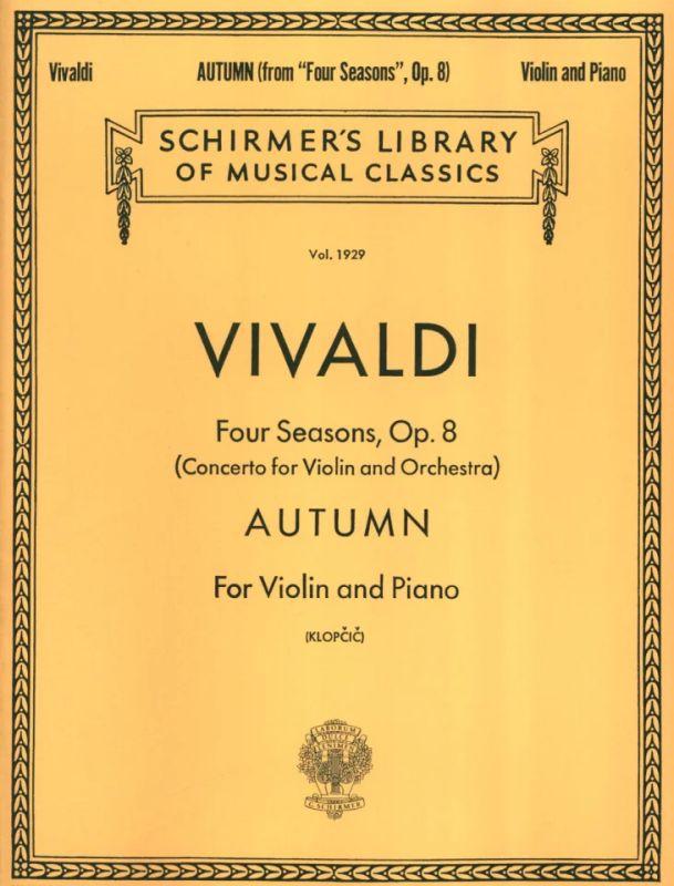 herbst 4 jahreszeiten von antonio vivaldi  im stretta