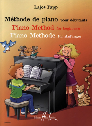 Lajos Papp: Piano method for beginners