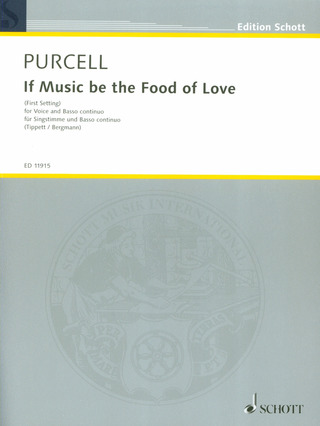 Henry Purcell: If Music be the Food of Love d-Moll Z. 379A