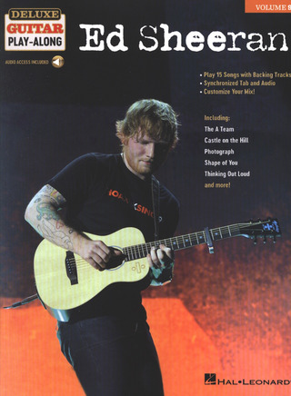 Deluxe Guitar Play-Along 9: Ed Sheeran
