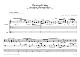 Charles Villiers Stanford: The Angels' Song