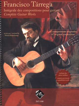 Francisco Tárrega: Complete Guitar Works 1