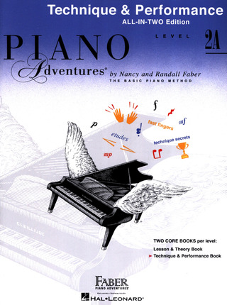 Randall Faber et al.: Piano Adventures 2A – Technique & Performance