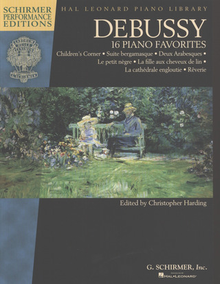 Claude Debussy: 16 Piano Favorites