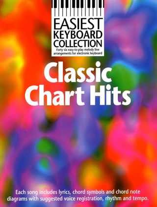 Easiest Keyboard Collection Classic Chart Hits
