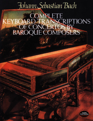 Johann Sebastian Bach: Bach Complete Keyboard Trans Of Concertos By Brqe Comps