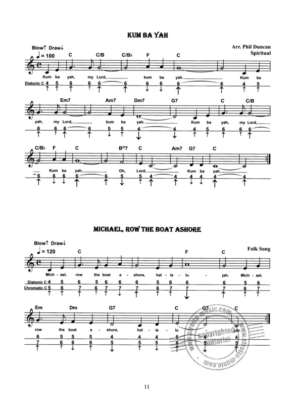 Favorite Harmonica Songs from Phil Duncan | buy now in