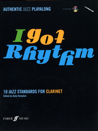 I Got Rhythm - 10 Jazz Standards For Clarinet Clt Book/Cd
