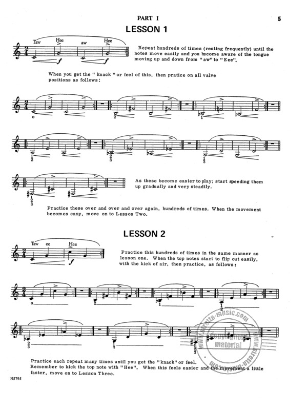 Gordon Claude: Daily Trumpet Routines (1)