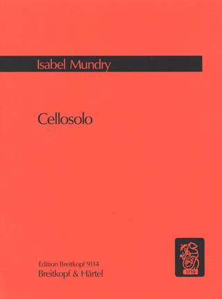 Isabel Mundry: Cellosolo