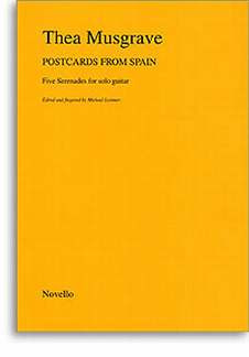 Thea Musgrave: Musgrave Postcards From Spain Gtr